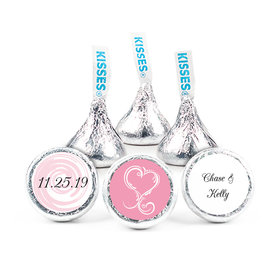 """Wedding Heart 3/4"""" Stickers For (108 Stickers)"""