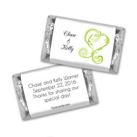 Personalized Wedding Reception Favors Mini Wrappers
