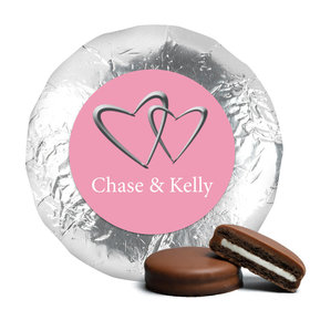 Personalized Wedding Reception Favors Belgian Chocolate Covered Oreo Cookies (24 Pack)