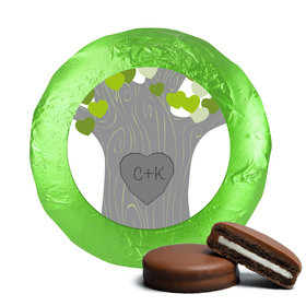Wedding Tree of Love Milk Chocolate Covered Oreo Cookies