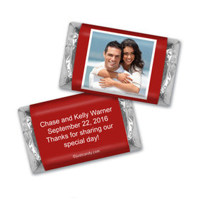 Wedding Reception Favors Personalized Hershey's Miniatures Wrappers Photo