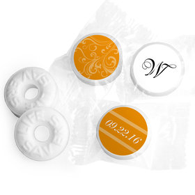 Wedding Favor Personalized Life Savers Mints Filigree