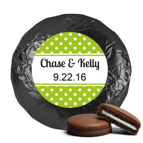 Wedding Favor Chocolate Covered Oreos Polka Dots