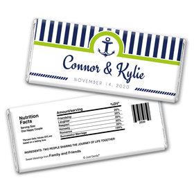 Personalized Wedding Reception Favors Chocolate Bar Wrappers