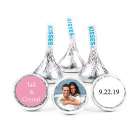 "Wedding Favor 3/4"" Sticker Full Photo (108 Stickers)"