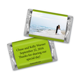 Wedding Favor Personalized Hershey's Miniatures Wrappers Full Photo