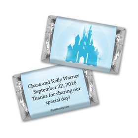 Wedding Favor Personalized Hershey's Miniatures Wrappers Magic Kingdom Theme