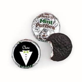 Personalized Wedding Groom's Tuxedo Pearson™s Mint Patties