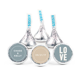 """Personalized 3/4"""" Sticker Bold Love Wedding Favors"""