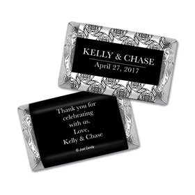 Personalized Hershey's Miniatures Wrappers Love Knots Wedding Favors