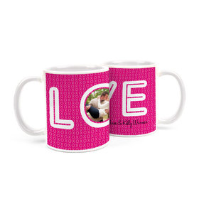 Personalized Wedding XOXO 15oz Mug