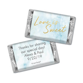 Personalized Wedding Hershey's Miniatures Love is Sweet Marble