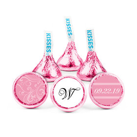 Personalized Wedding Filigree Hershey's Kisses (50 pack)