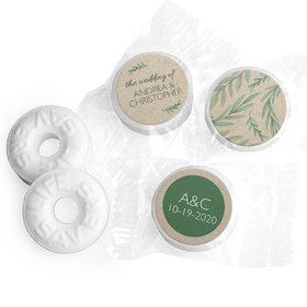 Personalized Wedding One With Nature Life Savers Mints