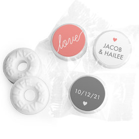 Personalized Wedding Everlasting Love LifeSavers Mints