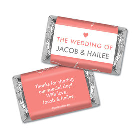 Personalized Wedding Everlasting Love Hershey's Miniatures Wrappers Only