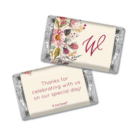 Personalized Wedding Blooming Bouquet Hershey's Miniatures