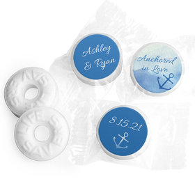 Personalized Wedding Anchored in Love LifeSavers Mints