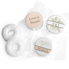 Personalized Wedding Wildflower Bouquet LifeSavers Mints