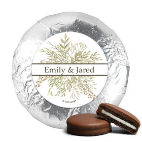 Personalized Wedding Wildflower Bouquet Chocolate Covered Oreos