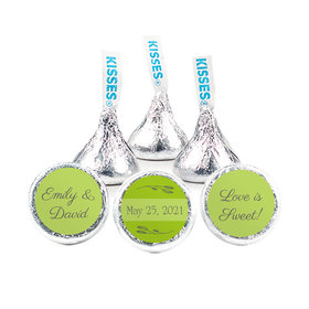 """Personalized Wedding Wishes 3/4"""" Stickers (108 Stickers)"""