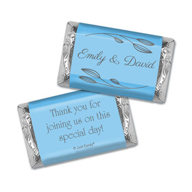 Personalized Wedding Wishes Hershey's Miniatures