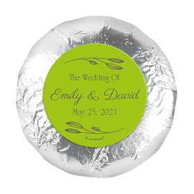 """Personalized Wedding Wishes 1.25"""" Stickers (48 Stickers)"""