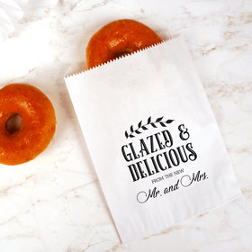 Personalized Wedding Glazed and Delicious Goodie Bag