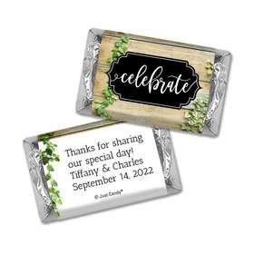 Personalized Wedding Vines of Love Hershey's Miniatures Wrappers Only