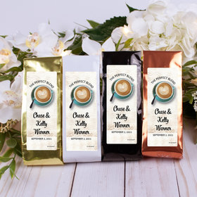 Personalized Wedding Columbian Coffee - The Perfect Blend