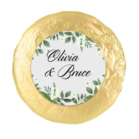Personalized Wedding Botanical Garden Chocolate Covered Oreos