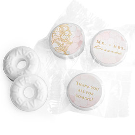 Personalized Wedding Blushing Dream LifeSavers Mints