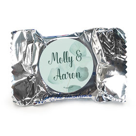 Personalized Wedding Favor York Peppermint Patties Peaceful Eucalyptus