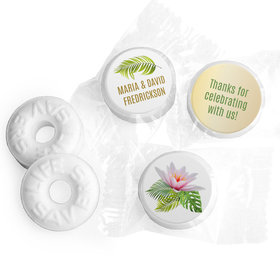 Personalized Wedding Floral Glam LifeSavers Mints
