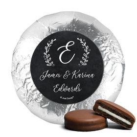 Personalized Wedding Chalkboard Lettering Chocolate Covered Oreos