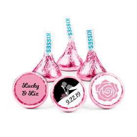 Personalized Wedding One Heart Hershey's Kisses (50 pack)