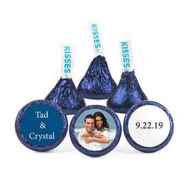 Personalized Wedding Photo Hershey's Kisses (50 pack)