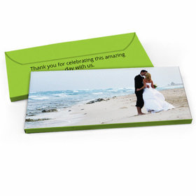 Deluxe Personalized Wedding Full Photo Candy Bar Favor Box