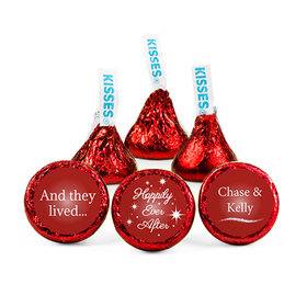 Personalized Wedding Happily Ever After Hershey's Kisses (50 pack)