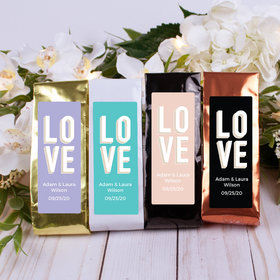 Personalized Wedding Columbian Coffee - Bold Love