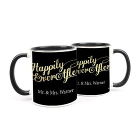 Personalized Wedding Happily Ever After 11oz Mug