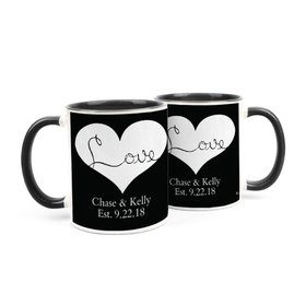 Personalized Wedding Love 11oz Mug
