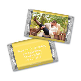 Engagement Party Favor Personalized Hershey's Miniatures Wrappers Full Photo