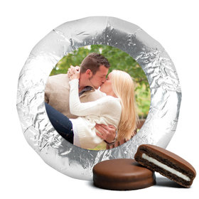 Engagement Party Favor Chocolate Covered Oreos Full Photo (24 Pack)