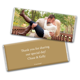 Engagement Party Favor Personalized Chocolate Bar Full Photo