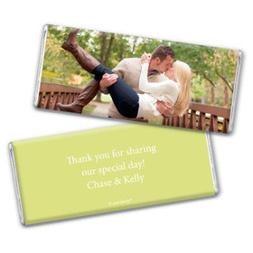 Engagement Party Favor Personalized Chocolate Bar Wrappers Full Photo