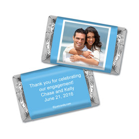 Engagement Party Favor Personalized Hershey's Miniatures Wrappers Photo
