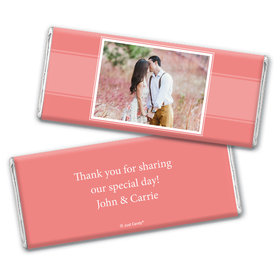 Engagement Party Favor Personalized Chocolate Bar Wrappers Photo