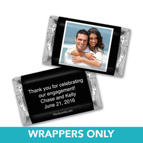 Personalized Engagement Party Favors Mini Wrappers