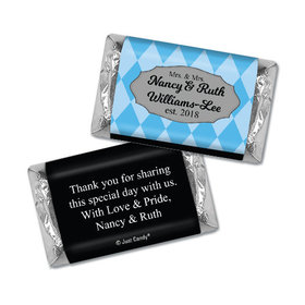 Personalized Lesbian Wedding Mrs. & Mrs. Regal Hershey's Miniatures